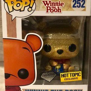 Funko Accessories - BNIB-Funko POP 252 Winnie the Pooh DIAMONDCollect